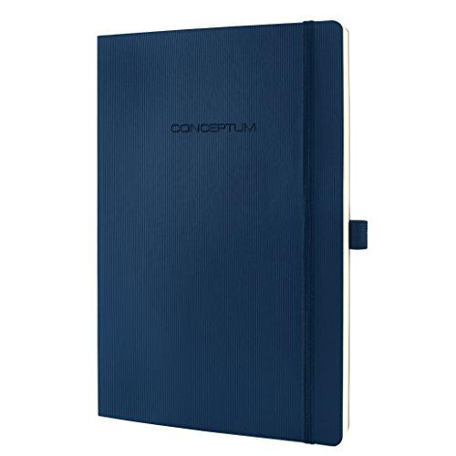 SIGEL CO317 Notizbuch Large, liniert, Softcover, dunkelblau, Conceptum - weitere Farben