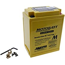 Batería MOTOBATT mbtx14au, 4pines 12V 16,5Ah 135x 90x 168MM