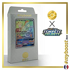 Mr. Mimie-GX 173/168 Arcoíris Secreta - #myboost X Soleil & Lune 7 Tempête Céleste - Box de 10 Cartas Pokémon Francés