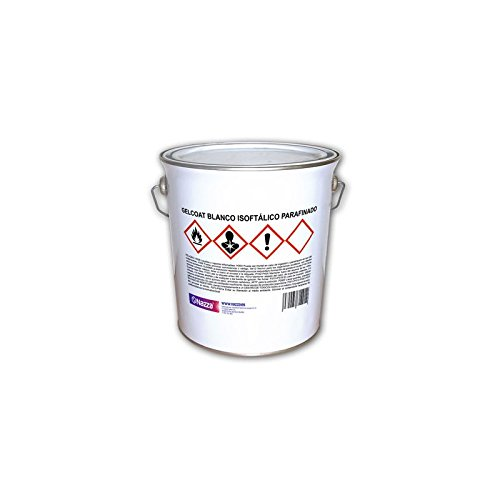 Top Coat - Gelcoat blanco isoftálico parafinado Nazza - 1 Kg