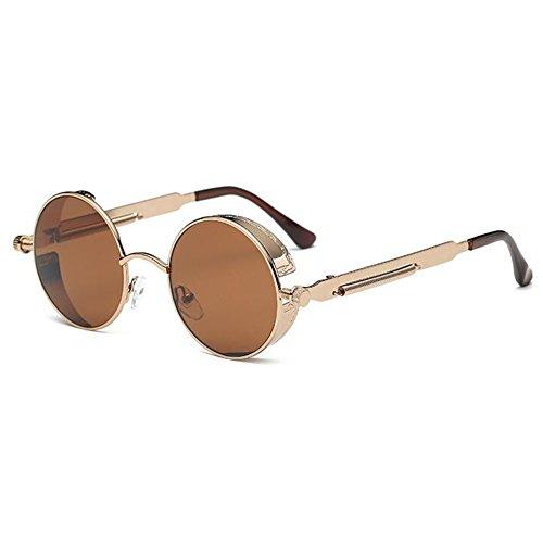 Steampunk Runde Sonnenbrille Color 1 (Steampunk-für Männer)