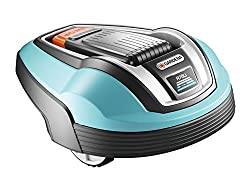 GARDENA 4072-20 robotic lawnmower R70li, lawn robot ideal for mowing areas up to 700m², mows even in rain, grass clippings serve as fertilizer for the lawn, theft protection by PIN code fuse