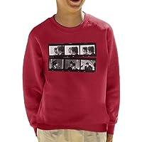 TV Times Beatles Lennon Mccartney Show Photo Strip Kids Sweatshirt