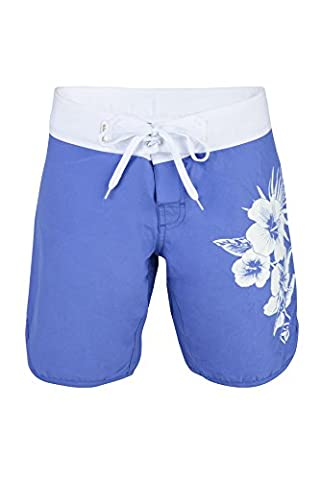 Urban Beach Damen Breit Mouth Board Shorts – Dark Blau, Größe 12