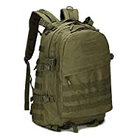 Fjiujin,Tactical backpack waterproof outdoor sports riding mountaineering backpacks for men and women(color:ArmyGreen,size:Upgrade)