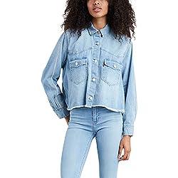 Camisa Vaquera Levis Addison Pretty Azul Mujer S Azul
