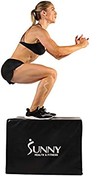 Sunny Health & Fitness No. 072 3-in-1 Foam Fitness Plyo
