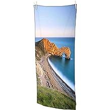 """Snoogg montaña y grandes opcean toalla de playa Super suave y absorbente microfibra 30x 58""""baño, gimnasio toalla de viaje"""