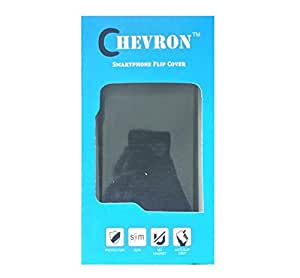 Chevron Flip Cover Case with Mobile Wall Charger for Asus Zenfone 2 ZE551ML