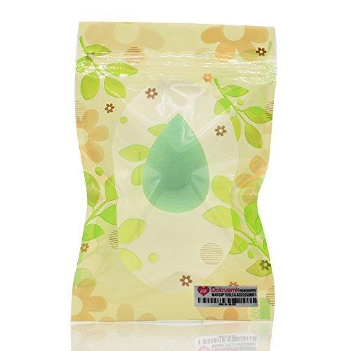 Dolovemk 1 pcs Makeup Sponge blender Fond de teint poudre blending Puff Beauté blending Œuf | Petite taille 4 cm. Hauteur, 4 G. Poids (sans latex) | Grand mouillé pour correcteur maquillage