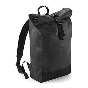 41LvDV5%2BtOL. SS300  - BagBase Mochila para hombre casual Lona enrollable mochila 15L 26x43x13cm Ocio