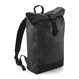 BagBase Mochila para hombre casual Lona enrollable mochila 15L 26x43x13cm Ocio