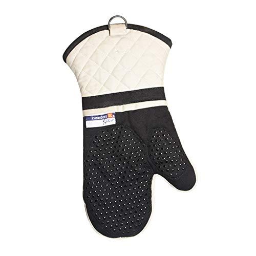 Resistente a altas temperaturas Manoplas para horno 1 par, guantes...