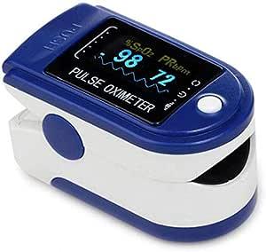 DAXGD Pulsossimetro, Pulsiossimetro da Dito, saturazione di Ossigeno nel Sangue, cardiofrequenzimetro