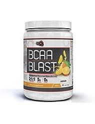 Pure Nutrition USA BCAA Blast Powder Pulver Essential Branched Chain Amino Acid Essentielle Aminosäuren 250/500g 38/77 Servings (Orange, 500g)
