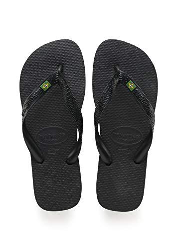 Havaianas Damen Brazil, Flip-Flops, Sandale, schwarz, 39/40 EU