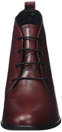 Tamaris 25197, Bottes Chukka Femme Rouge (Bordeaux 549)