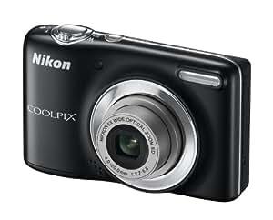 """Nikon Coolpix L25 Appareil photo numérique compact 10,1 Mpix Ecran 3"""" Zoom optique 5x Noir"""