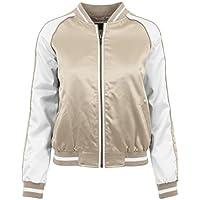 Ladies 3-Tone Souvenir Jacket gold/offwhite/gold