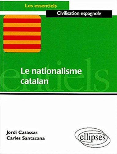 Le Nationalisme catalan par Jordi Casassas