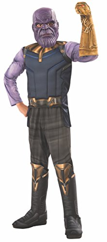 Rubie's Offizielles Avengers Infinity Wars Thanos Deluxe Kinderkostüm