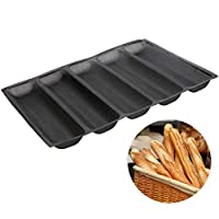 Baker Boutique Silicone Bread Mold Non Stick Reusable Baking Form Perforated mould 5 Molds