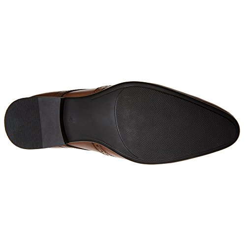 Frank Wright 3 Eye Wingcap Homme Chaussures Fauve Fauve