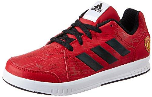 adidas Boy's Mufc Lk Trainer 7 K Powred, Cblack and Ftwwht Sports Shoes - 12 kids UK/India (30.5 EU)