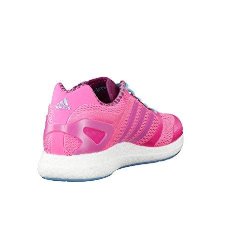 Adidas Cc rocket boost w runnig chaussures femmes noir Rose - rose bonbon