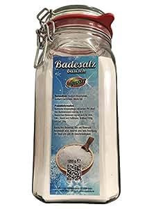 1.200 g Basisches Bade-Salz Badesalz Badezusatz entsäuernd
