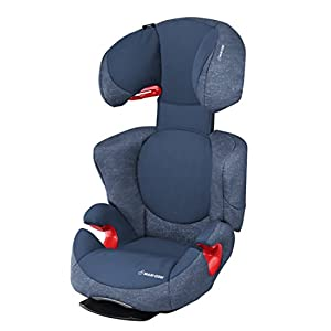 Maxi-Cosi Rodi AirProtect Child Car Seat, Lightweight Highback Booster, 3.5 - 12 Years, 15-36 kg, Nomad Blue Maxi-Cosi Child car seat, suitable to use from 3.5 to 12 years (approx from 100 cm to 150 cm) ISOFIX installation is possible with this group 2/3 car seat for optimal stability Quick and easy to buckle up: This ISOFIX car seat is designed to enable children to get in and out and buckle up on their own in a few seconds 7