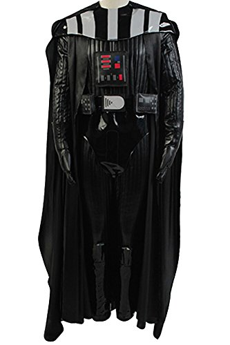 Fuman Star Wars Darth Vader Cosplay Kostüm Herren M (Darth Vader-halloween-kostüm)
