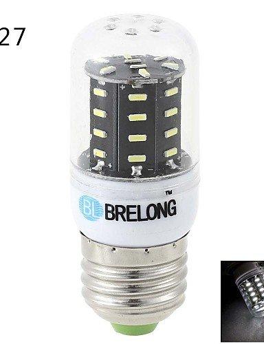 YangR* E14 / E27 / G9 6 W 36 SMD 4014 600 LM Warmweiß / Weiß Mais Glühlampen AC 220-240 V , Weiß-e14 Dusk To Dawn Glühbirne Adapter