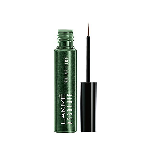 Lakme Absolute Shine Line Eye Liner, Sparkling Olive, 4.5 ml