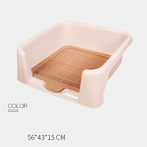 OLT -Pet toilet Litterbox Interior para Mascotas al Aire Libre, cesto de...