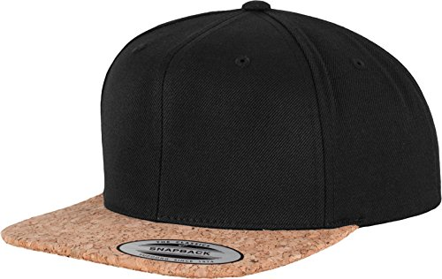 Flexfit Mütze Cork Snapback, black, one size, 6089CO-00007-0050