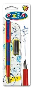 Carioca Stylo plume + 2 cartouches d'encre