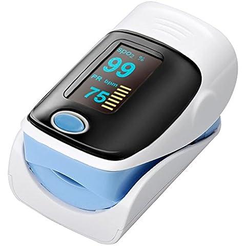 Dedo oxímetro de pulso–1,2Pulgadas Pantalla OLED, Apagado automático, baja tensión Display–Envío desde China/Hong