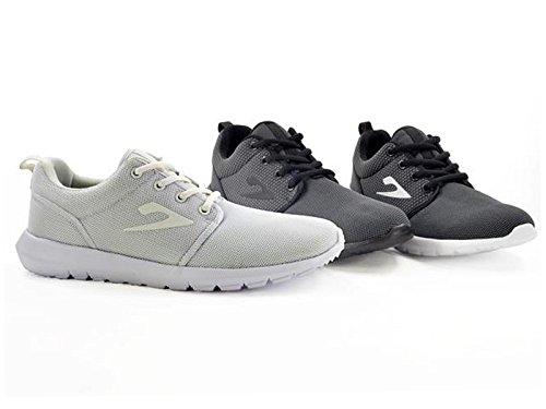 Foster Footwear , Baskets mode pour homme noir/blanc