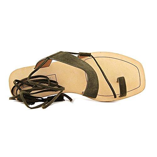 Elie Tahari Flash Cuir Sandales Gladiateur Military