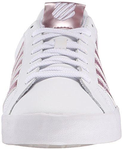 K-Swiss Belmont SO Damen Sneakers Weiß(WHITE/SILVER PINK 143)