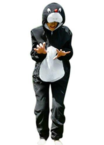 An47/00 Gr. M Maulwurf Kostüm für Fasching und Karneval, Kostüme für Frauen Männer Erwachsene Paare, Faschingskostüm, Karnevalkostüm