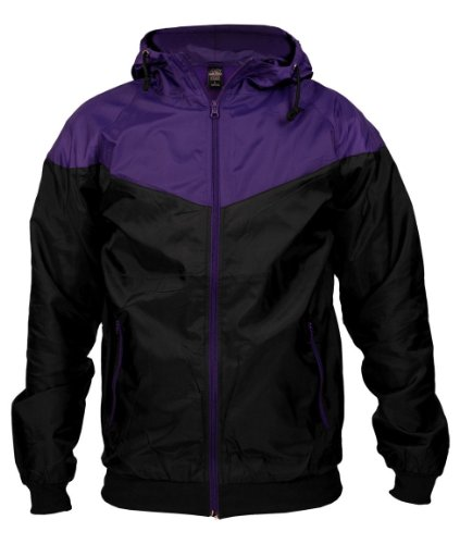 Urban Classics Herren Jacke Bekleidung Arrow Windrunner Red/Black