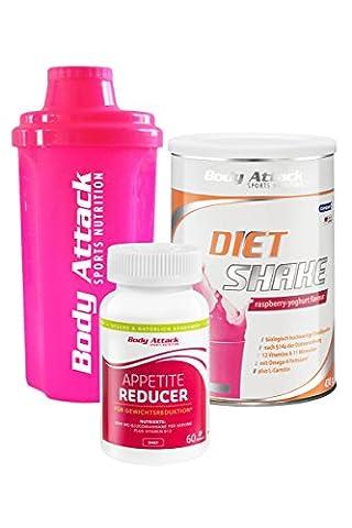 Body Attack Diät Paket Women Standard, Mahlzeitenersatz, Ballaststoffasern aus der