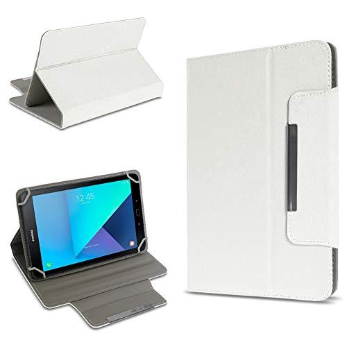 UC-Express Tablet Tasche kompatibel für Samsung Galaxy Tab Active 2 Hülle Tablet Schutzhülle Case Schutz Cover, Farben:Weiß