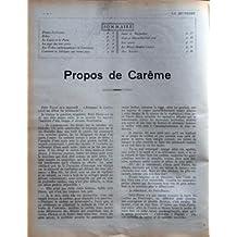 JEUNESSE (LA) N? 11 du 13-03-1924 REVUE ILLUSTREE - LES BEAUX CONTES DE TOUS LES PAYS - JEUX ET SPORTS - BELLES IMAGES WAT PRABATOM - PAGODES AU SIAM - PROPOS DE CAREME - LE LAPIN ET LA POULE - LES TRIBUS ANTHROPOPHAGES DE L'AMAZONIE - SE FABRIQUER UNE PIPE - LES TOUT-PETITS - LE MIROIR SOMBRE - JEUX ET DEVINETTES - LES JEUX ET LES SPORT