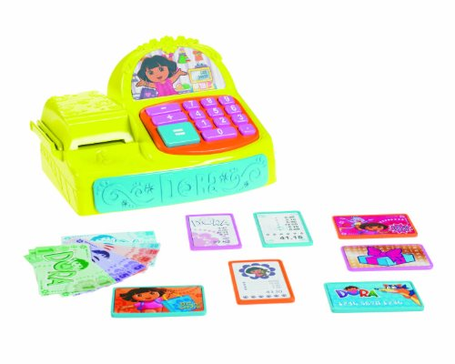 Dora the Explorer Fisher Price - X2180 - Jeu d'imitation - La Caisse Enregistreuse de Dora