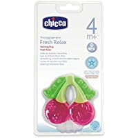 Chicco cooling teething ring cherry 4 + months - ukpricecomparsion.eu