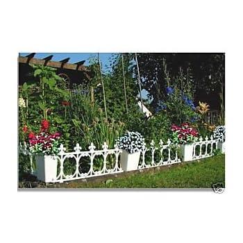 Zaun Rasenkante Gartenzaun Zierzaun Beet 2 36 M Amazon De Garten
