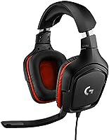 Logitech G332  Kablolu Gaming Oyuncu Kulaklığı, Stereo Ses , 3.5 mm Jak Bağlantısı, PC/Mac/Xbox One/PS4/Nintendo Switch...
